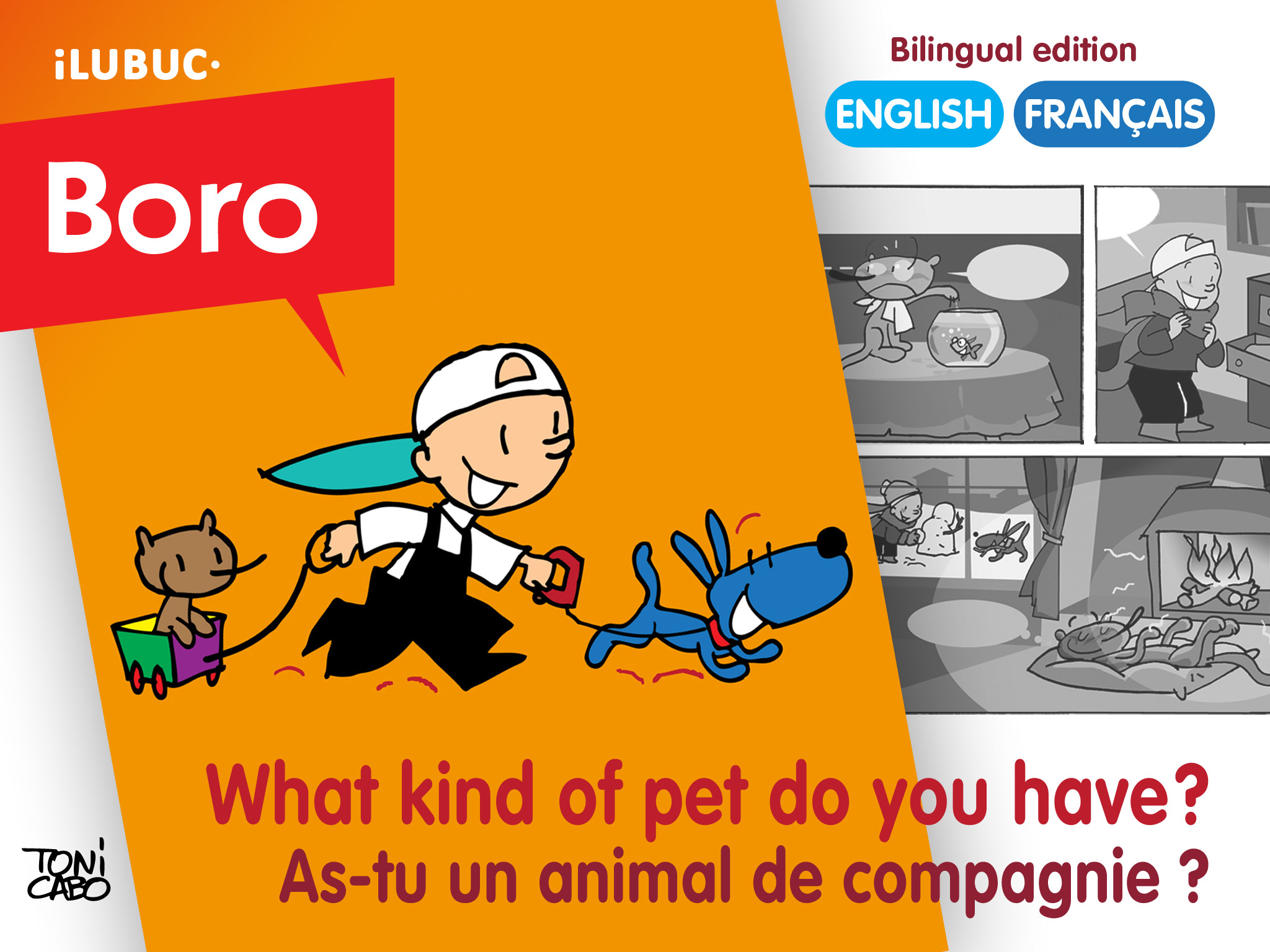 Boro - What kind of pet do you have? / As tu un animal de compagnie ?